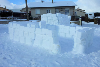 2017-01-17 Un igloo à la Mouteyre
