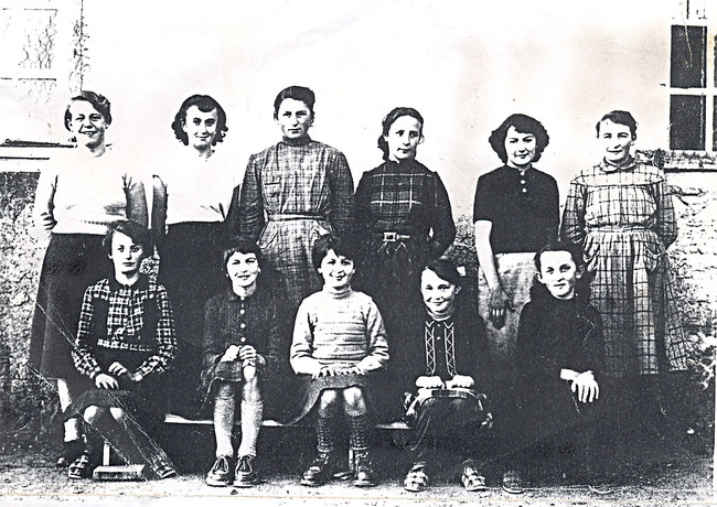 114-1955-56 à l'école Saint Paul